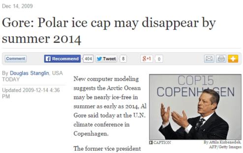 Gore's bipolar predictions